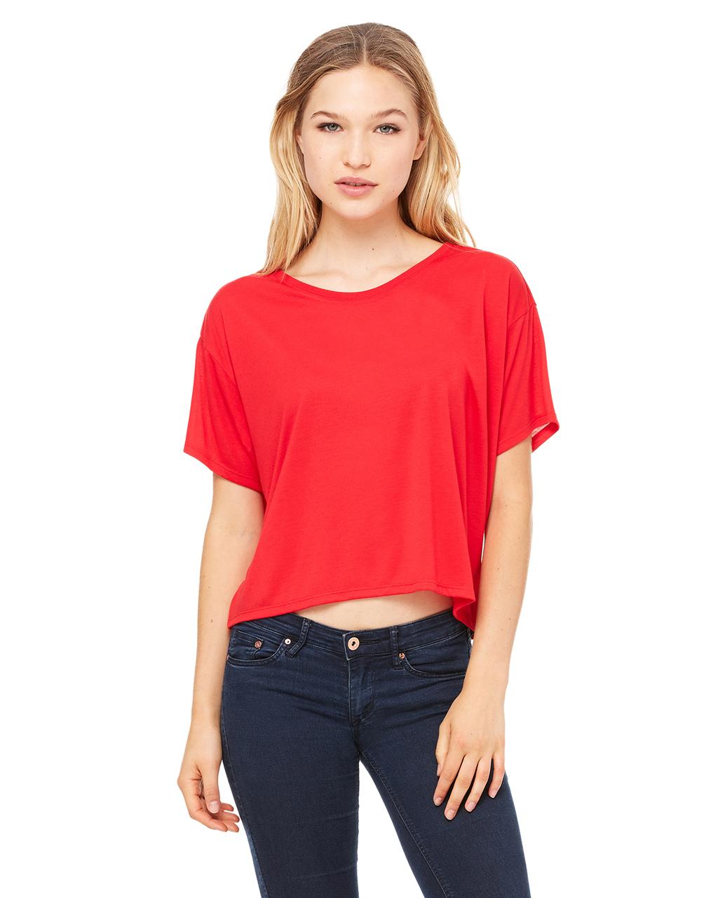 Bella Ladies' Flowy Boxy T-Shirt