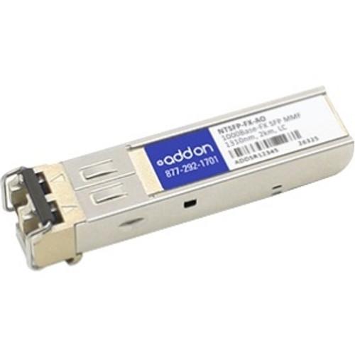 NTSFP-FX-AO - AddOn NTron NTSFP-FX Compatible SFP Transceiver