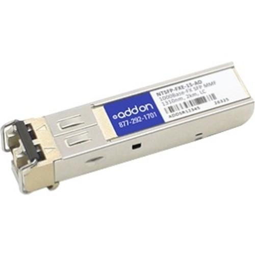 NTSFP-FXE-15-AO - AddOn NTron NTSFP-FXE-15 Compatible SFP Transceiver