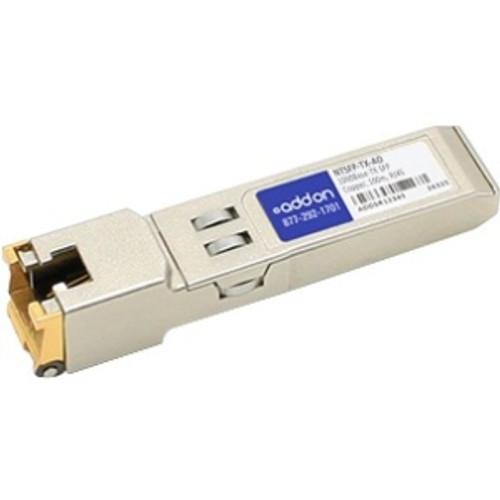 NTSFP-TX-AO - AddOn NTron NTSFP-TX Compatible SFP Transceiver