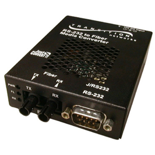 J/RS232-TF-01(SC)-NA - Transition Just Convert-IT Stand-Alone Media Converter