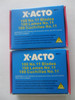 X-ACTO X611, By Hunt, 11 Blade, 100 Blades, Made in the USA