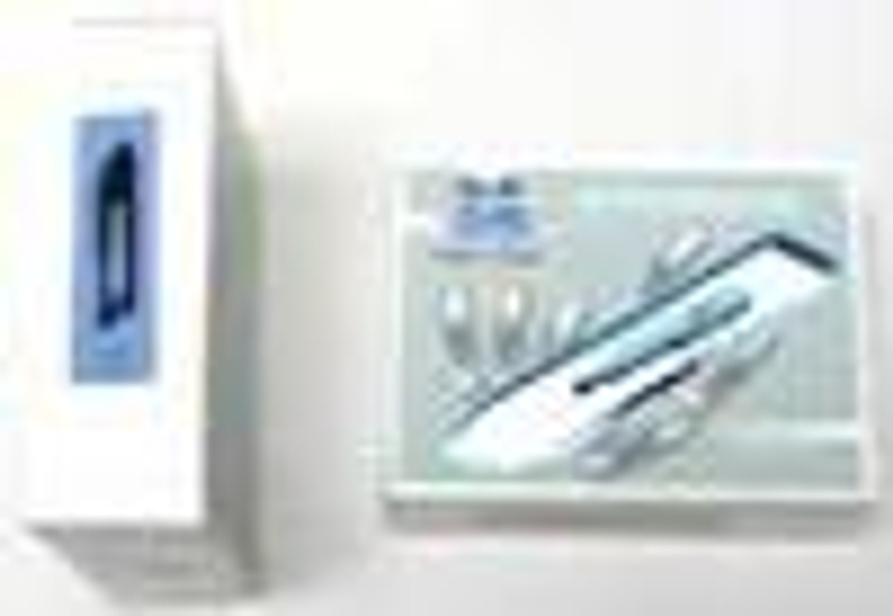 Scalpel Blades 21 100 box, Non Sterile Disposable (SB21-100)