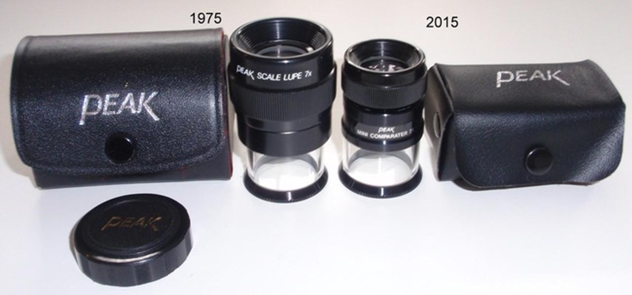 Optical Comparator Peak Mini Measurement Loupe 7 X 2015 , 2015-7X