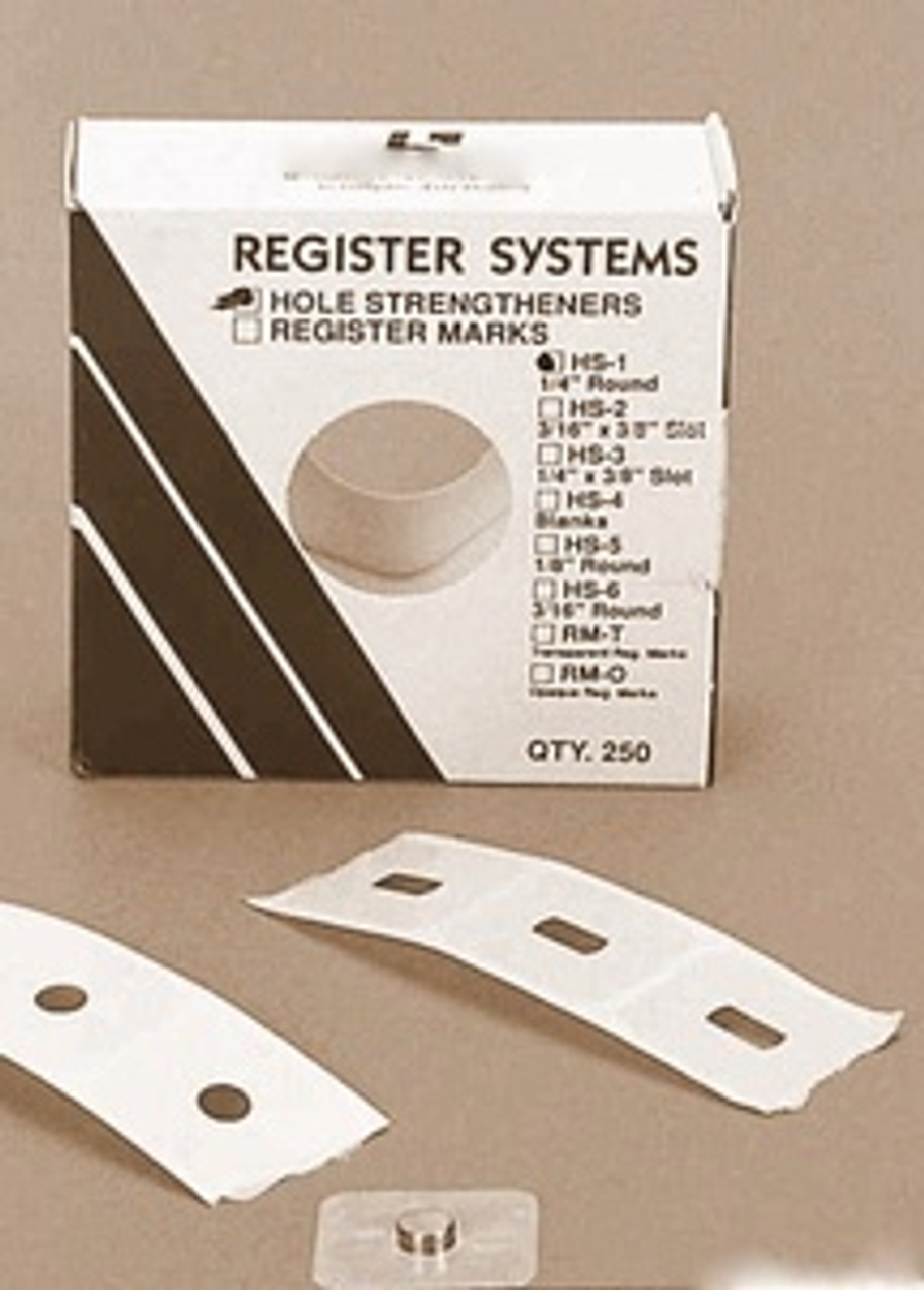 Punch Hole Strengtheners Register System , L-6600-6612
