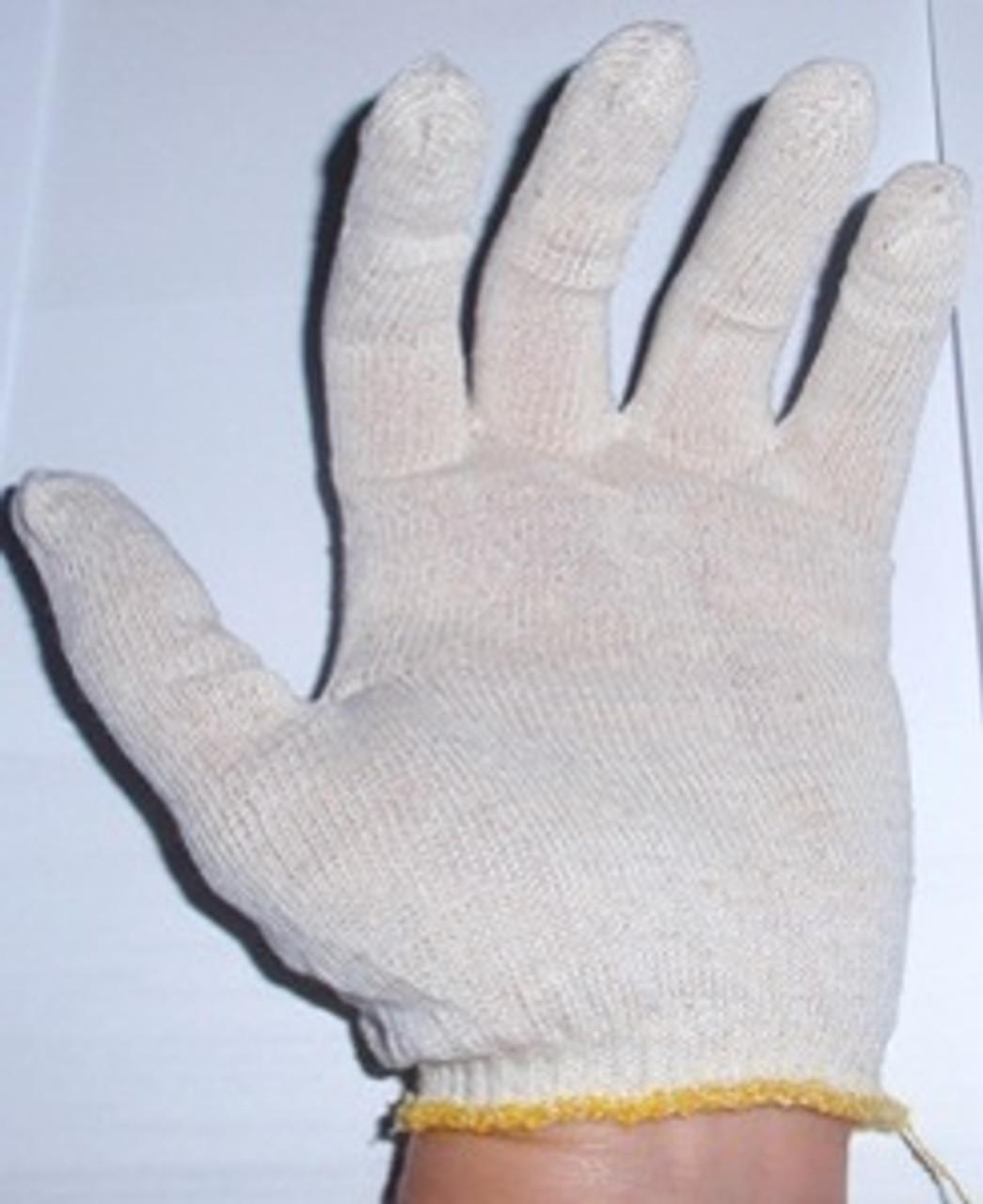 Womens Inspection Gloves 100% Cotton Liner 1dz (m-13650)