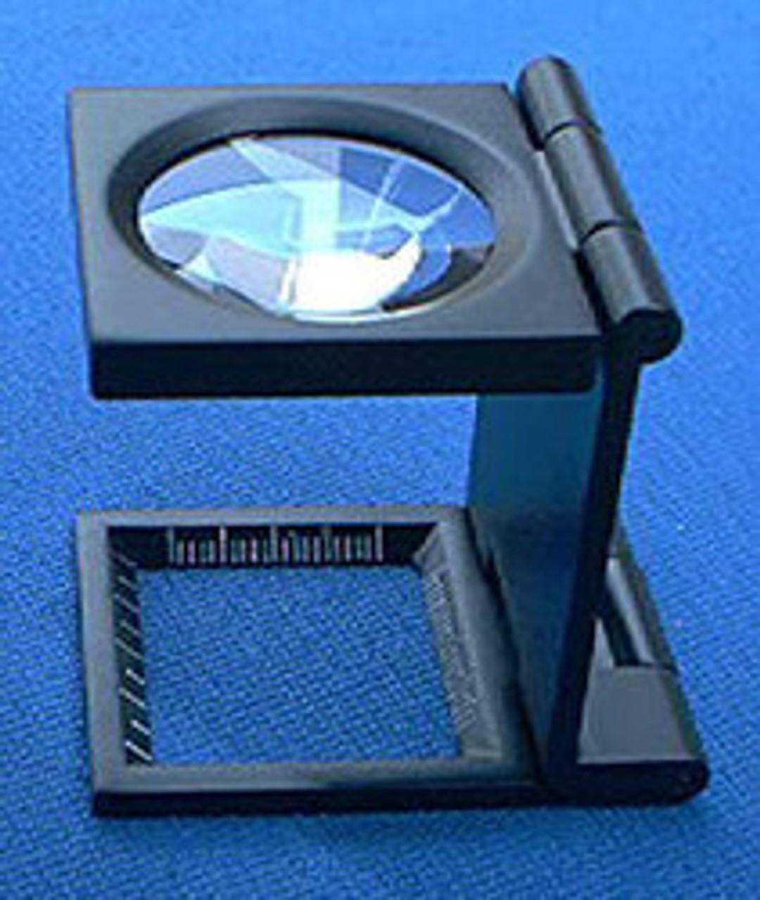 Folding Magnifier , Linen Tester,  6X , s-387, Selsi