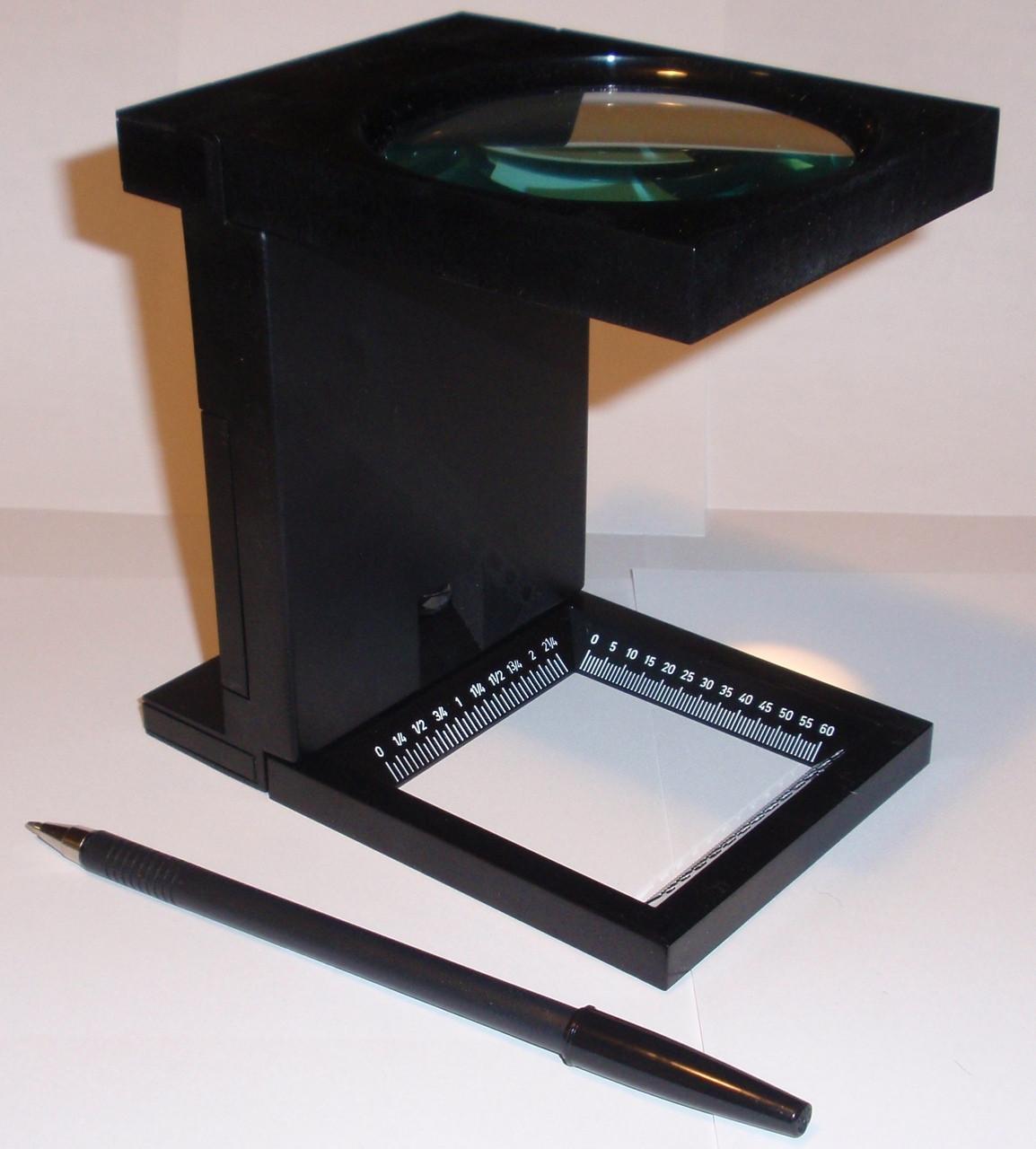 so-MA1103L Base comparison of large lighted linen tester