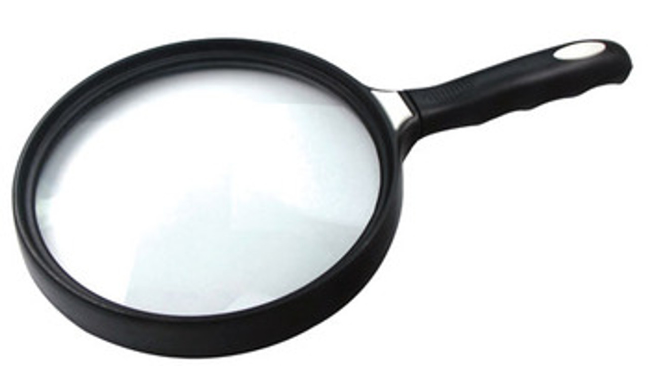 """2X Large Reading Magnifier 5.5"""" Diam. Hand Held , so-MF23355C"""