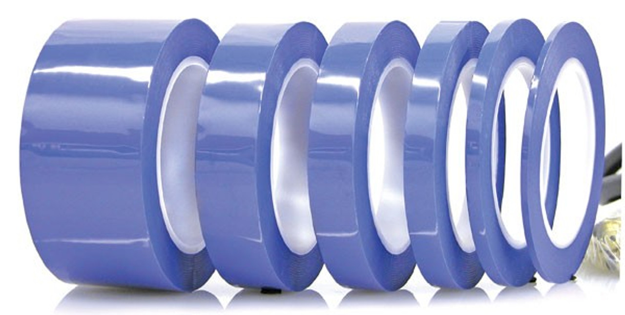 """Electro Plating Process Easy Pull Tape .1"""" x (25.4mm) Blue (fls-273T-1)"""