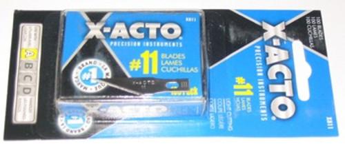 X-ACTO X811, 11 Blade, 100 Blades