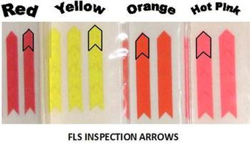 FLS, Inspection Arrows, Strong High Tack, A1KP-4-5