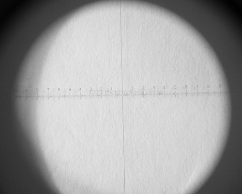 Standard scale, Peak Scale Loupe Measuring Magnifier 7X 1975 , pk-1975-S