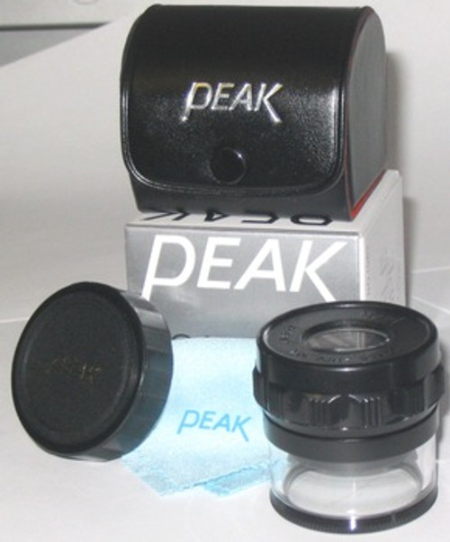 Peak 10X 32mm Measuring Magnifier Loupe w/ Scale , pk-1983