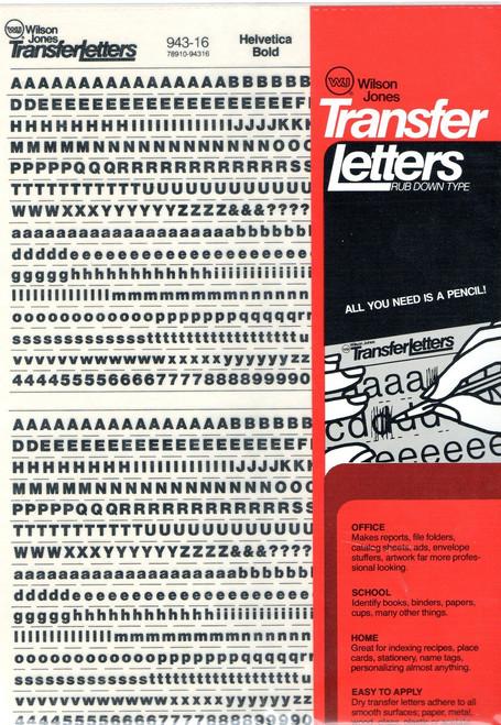 Helvetica Bold 16pt 943-16