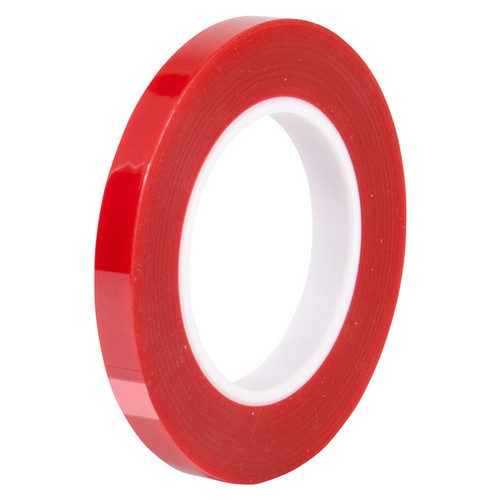 "Electro plating process tape 1/2"" x 72 yd Red (fls-M717-281-.5), 12.7mm"