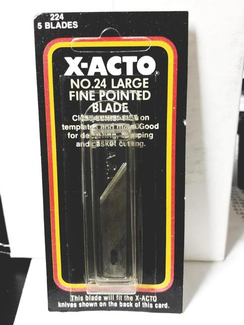 Hunt X-Acto X224 No.24 Mat Cutter Blade 5 Pack (X224)
