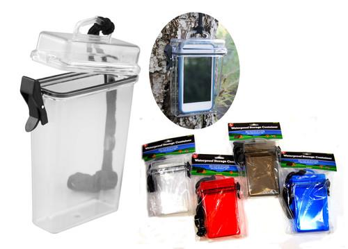 Waterproof Container Travel Beach Money Holder Bulk Case WP694-Bulk240 Image 2