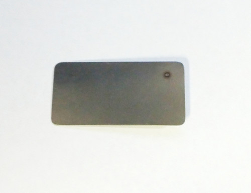 Flat back spot welded registration pin by FLS, reg-pin-AD back