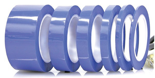 "Electro plating process tape 1/2"" x (12.7mm) 72 yd Blue (fls-273T-.50)"