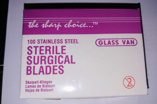 Scalpel Blades 11 100 box, Non Sterile Disposable (GV-3001-11-100)