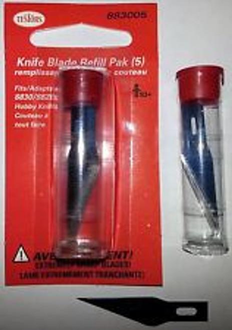 No. 11 Hobby Blades 5pc in Storage Tube (TSTR-CLO-5pc)