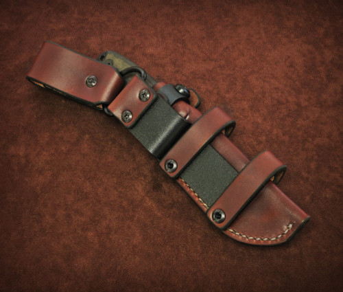 Sagewood Gear ESEE 4 Scout Vertical Carry Conversion
