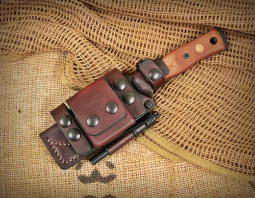 Sagewood Gear TOPS BOB Fieldcraft PRS Deluxe Scout Sheath