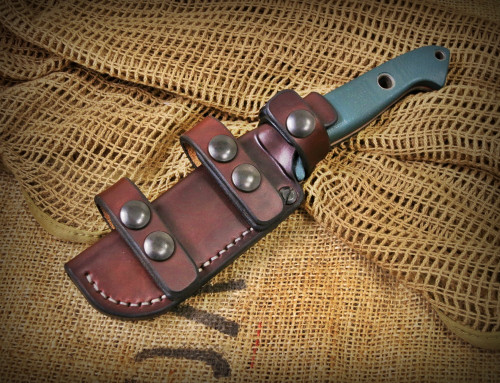 Sagewood Gear Benchmade 162 Bushcrafter PRS Scout Sheath