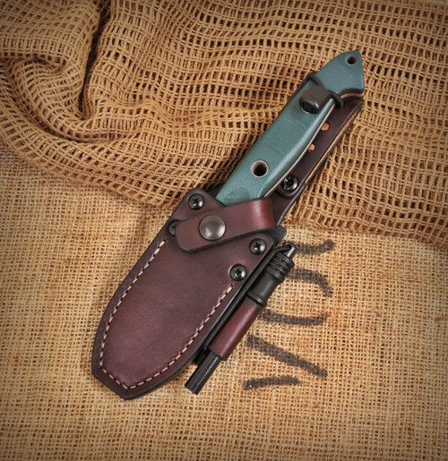 Benchmade Bushcrafter 162 Randall Leather Knife Sheath