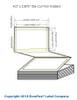 """Epson GP-C831 4"""" x 2.875"""" Chemical Labels 4800/Carton (805016)"""