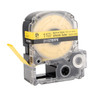 """Epson 211STBYPX 1/2"""" Yellow Matte Heat Shrink Tube PX Tape"""