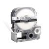 """Epson 221STBWPX 7/8"""" White Matte Heat Shrink Tube PX Tape"""