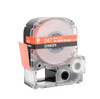 """Epson 224WOPX 1"""" Orange Glossy Polyester Label PX Tape"""