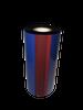 "Zebra 3.5""x984 ft TR4085plus Resin Enhanced Wax-24/Ctn thermal transfer ribbon"