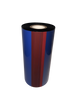 "Zebra 1""x984 ft VR301 Durable Metallic Silver Resin-36/Ctn thermal transfer ribbon"