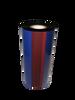 """Zebra 3""""x984 ft TR3022 Blue (286C) General Purpose Wax-6/Ctn thermal transfer ribbon"""