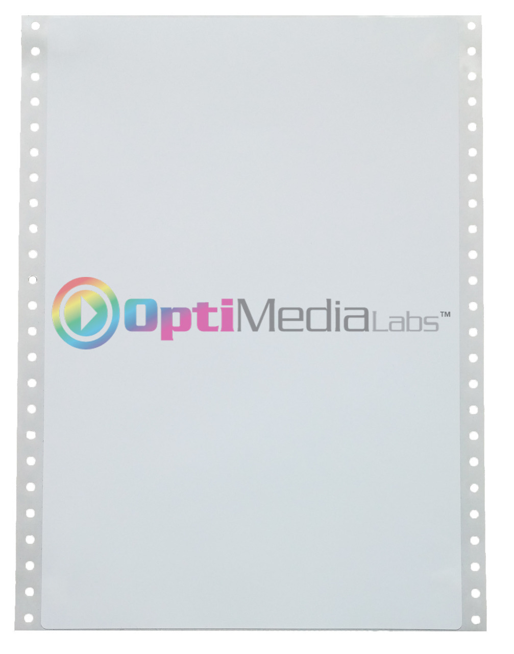 "Epson GP-C831 8 3/8"" x 12 3/8"" Matte Labels"