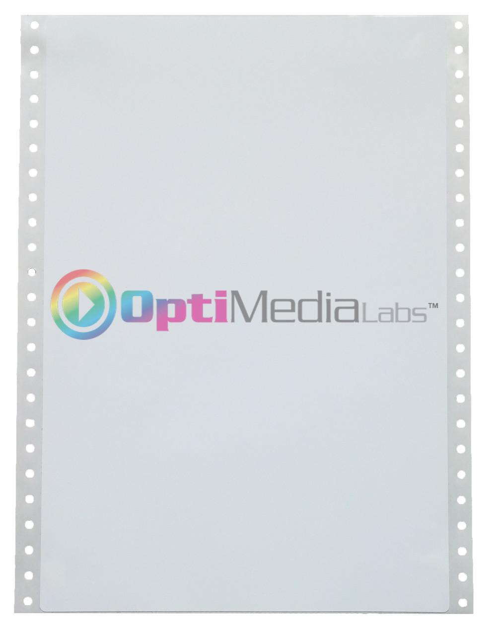 """Epson GP-C831 8.5"""" x 10 7/8"""" Matte Polypropylene Labels"""