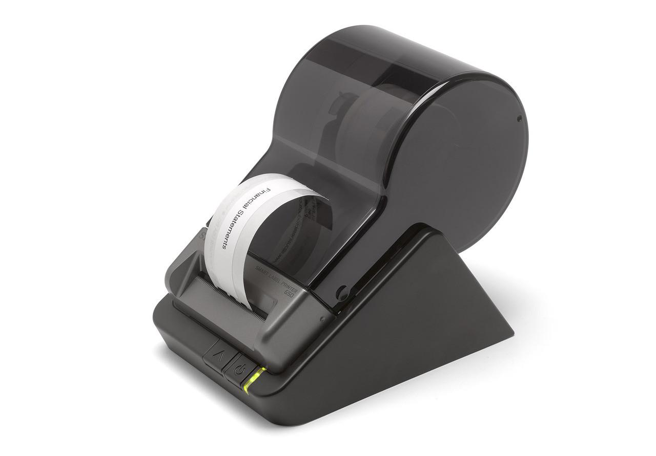 Seiko Smart Label Printer 650 printing an address label
