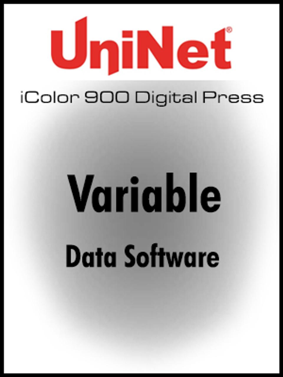 iColor 900 Digital Press Variable Data Software
