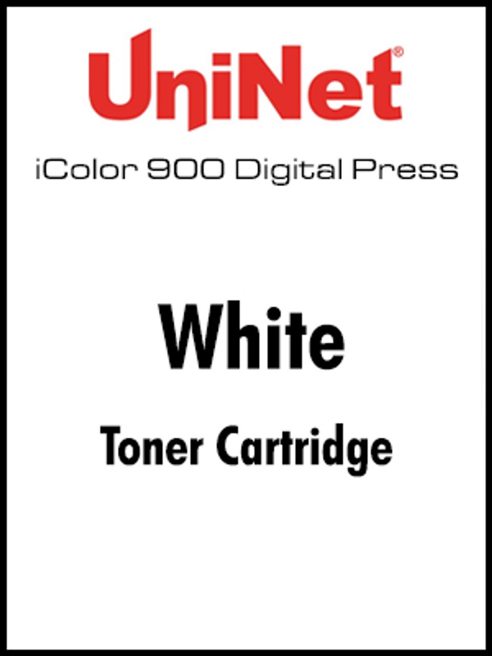 iColor 900 Digital Press White toner cartridge