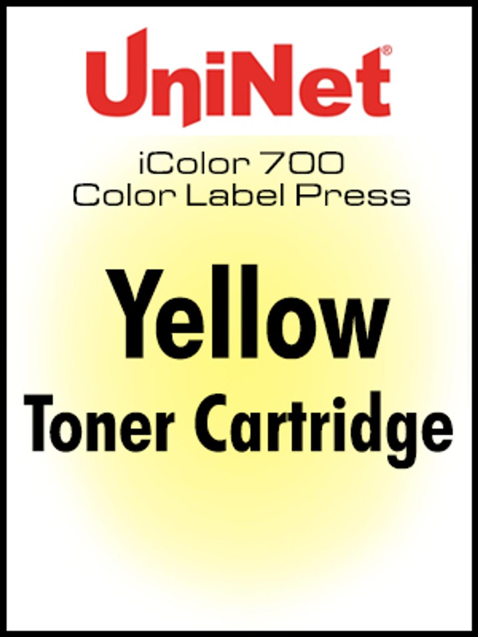 iColor 700 Digital Press Yellow toner cartridge