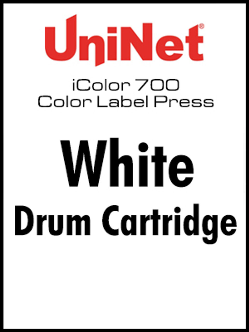 iColor 700 Digital Press White drum cartridge