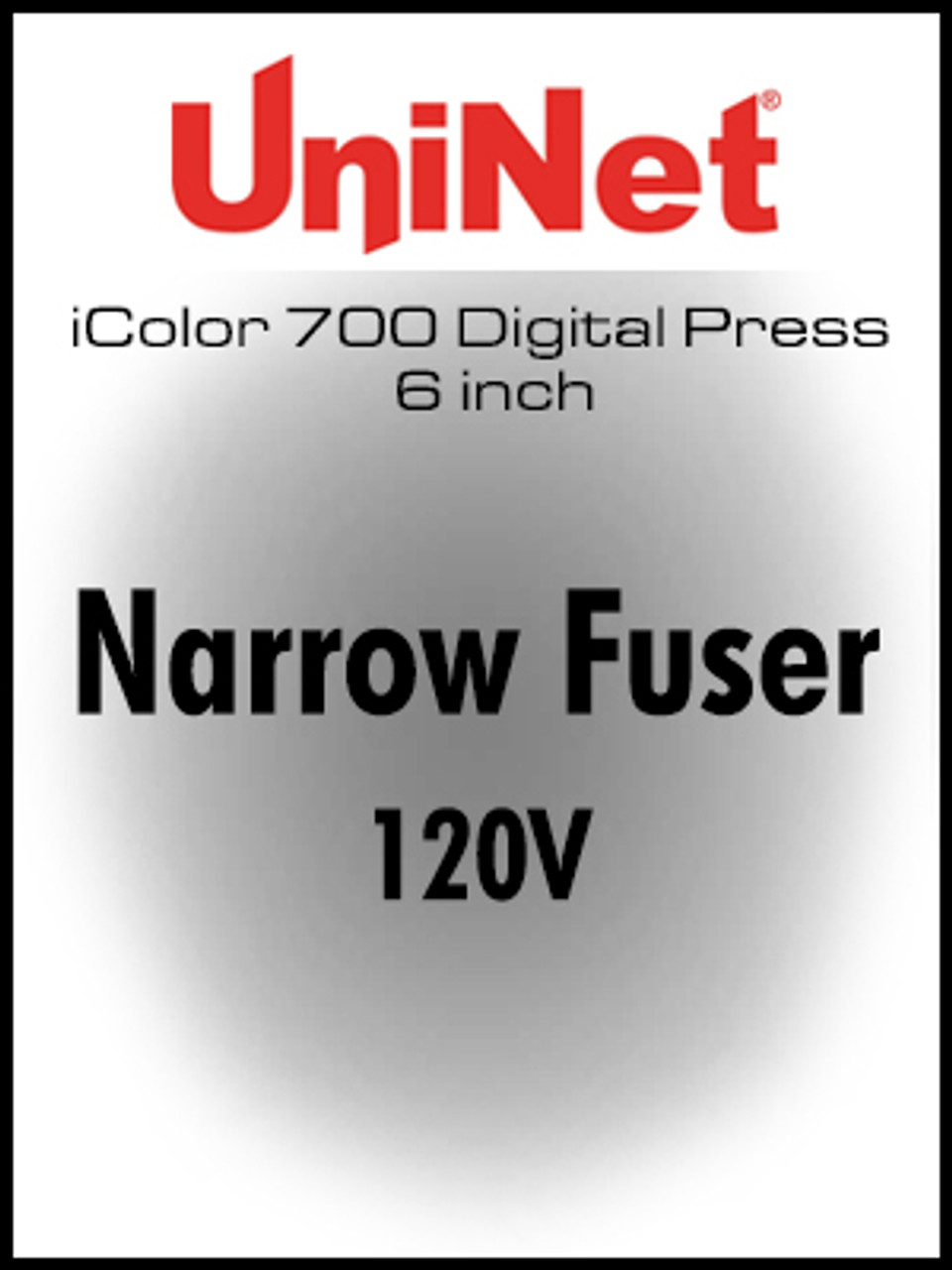iColor 700 Digital Press 6 inch Narrow Fuser 120V