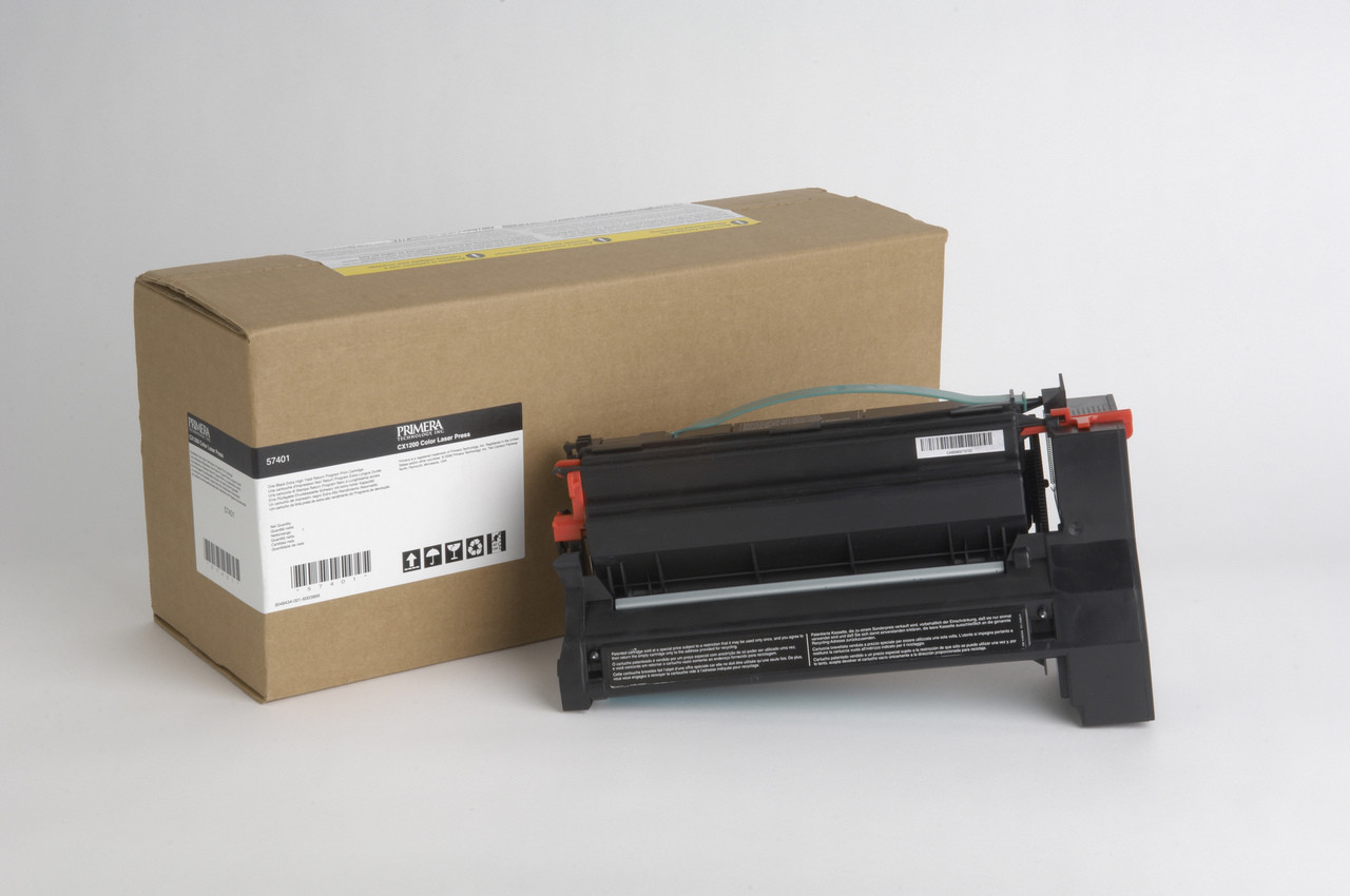 Primera CX1000/CX1200 Black Toner Cartridge, Extra High Yield 57401