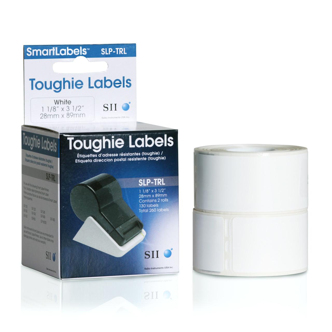 Seiko SLP620/650 1.125 x 3.5 White Address Inkjet Labels SLP-TRL