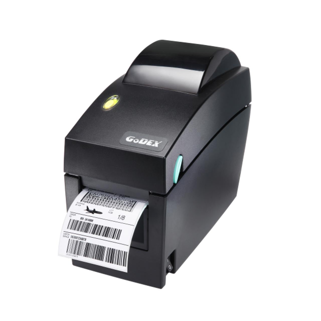 "Godex DT2x 2"" Direct Thermal Barcode Label Machine, 203 dpi, 7 ips"