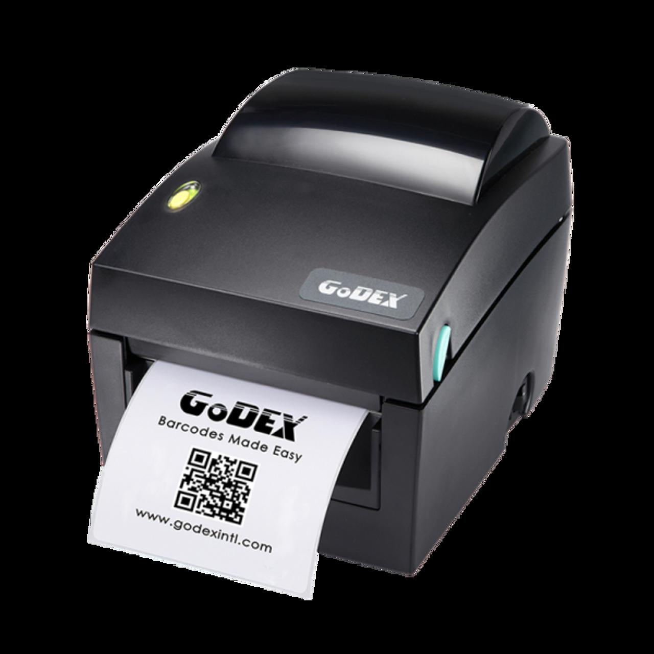 "Godex DT4x 4"" Direct Thermal Barcode Label Machine, 203 dpi, 7 ips"