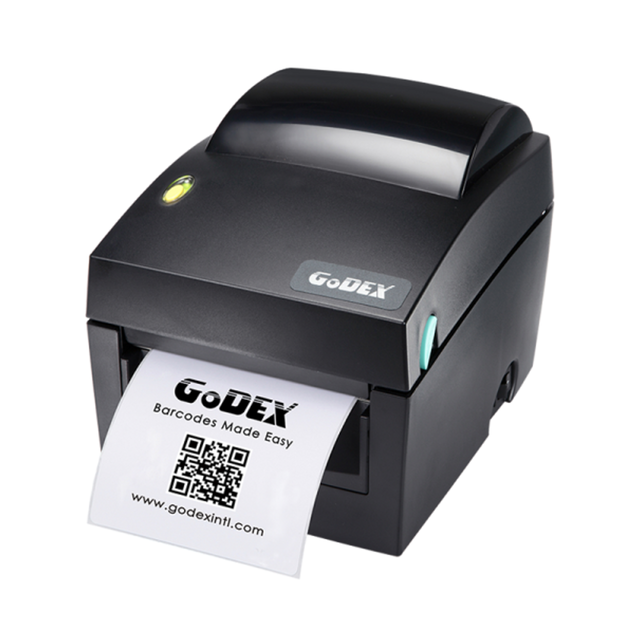 "Godex DT4x 4"" Direct Thermal Barcode Label Machine, 203 dpi, 7 ips"